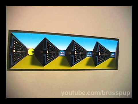This Illusion Poster Brings Pacman Into Meatspace