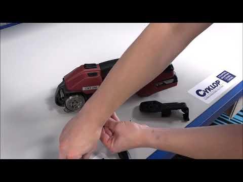 CMT 260 / CHT 450 / CLT 130: Spanwiel en tandplaat schoonmaken