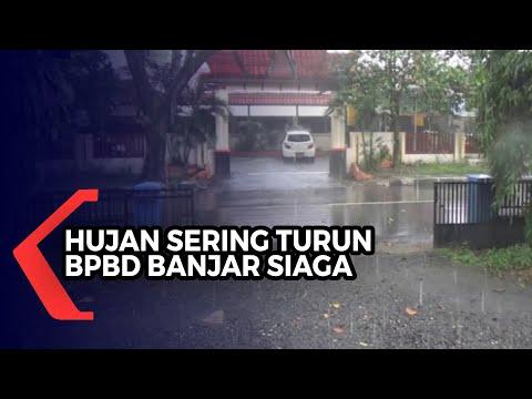 hujan sering turun bpbd banjar waspadai bencana banjir