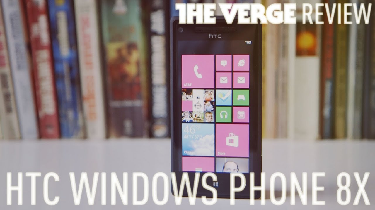 HTC Windows Phone 8X hands-on review thumbnail