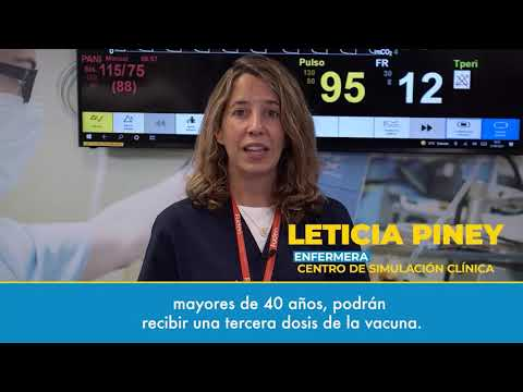 Watch video#CuidoMiSalud. Cuidados de enfermería ¿Tengo que ponerme más vacunas contra el coronavirus?