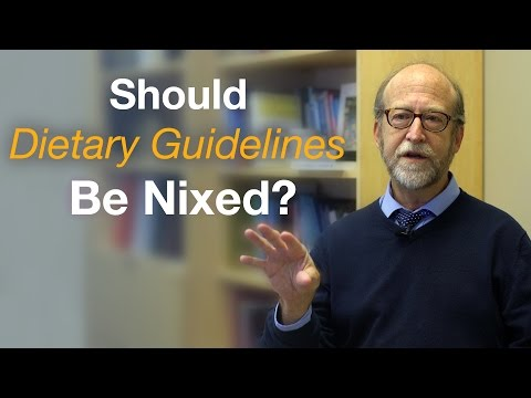 Should Dietary Guidelines for Americans Be Nixed?