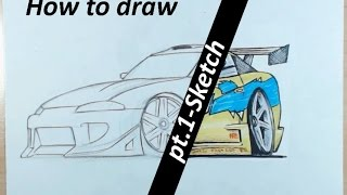 How To Draw Fast And Furious Cars Free Video Search Site Findclip