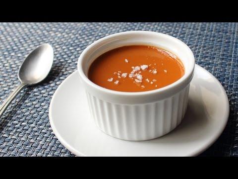Salted Caramel Custard Recipe – How to Make Salted Caramel Pots de Creme