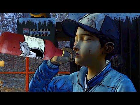 No Time for Kissing: Survivors Joke About Luke & Jane's Sex (Walking Dead   Telltale Games)