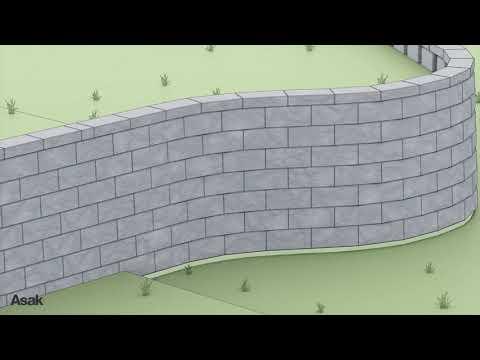 Vertica støttemur