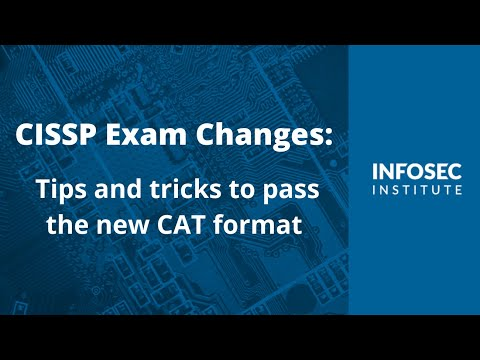 CISSP Exam Changes: Tips and tricks to pass the new CAT format ...