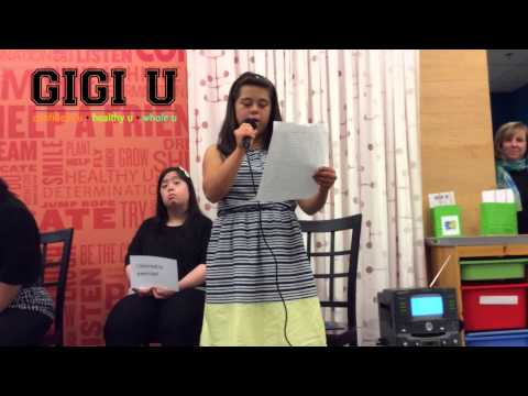 Veure vídeo Down Syndrome: Aubrey's Speech at GiGi University Graduation Speech