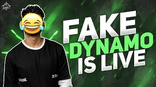 FAKE DYNAMO IS TROLLING RANDOMS | PUBG MOBILE LIVE WITH DYNAMO GAMING | SUNDAY SPECIAL