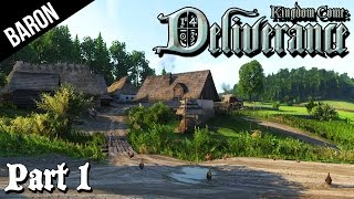 Kingdom Come Deliverance Gameplay - Exploring the Town (Kingdom Come Walkthrough Part 1)