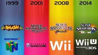 All Super Smash Bros. TV Commercials - 64, Melee, Brawl, 3DS & Wii U (1999-2014)