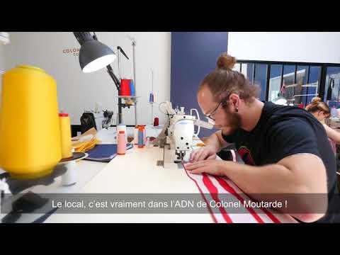 LE COLONEL MOUTARDE valorise le savoir-faire textile Hauts-de-France avec ses nœuds-papillons vendus dans 50 pays
