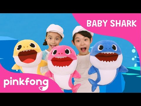 Baby Shark Dance with Song Puppets | Baby Shark Toy | Toy Review | Pinkfong Songs for Children