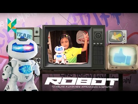 Remote Control Robot Toy for Kids : Amazing Robot – Agent Bingo  kyrascope