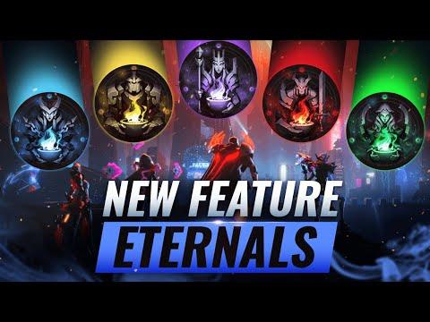 HUGE UPDATE: NEW ETERNALS ACHIEVEMENT SYSTEM (Explained) - League of Legends Season 10