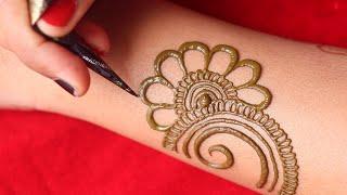 Beautiful Arebic Henna Mehndi Design || Simple Mehndi Design || Latest Henna Design || Amisha Arts