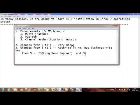 ibm mq series tutorial   Best ibm mq training - YouTube