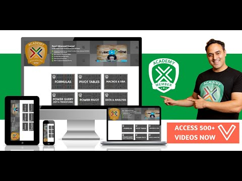 The MyExcelOnline Academy Online Excel Course (Walk-through ...