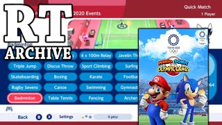 RTGame Archive:  Mario & Sonic at the Tokyo 2020 Olympic Games