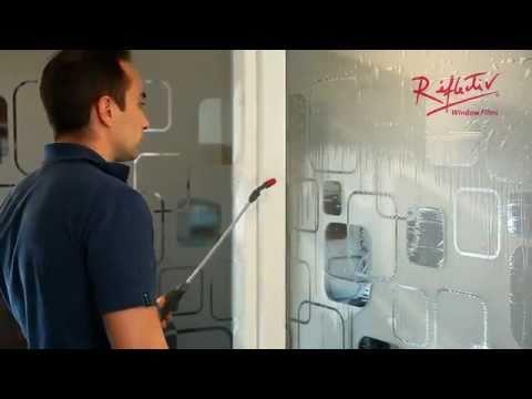 Presentazione sull' applicazione della pellicola adesiva per vetri di Réflectiv