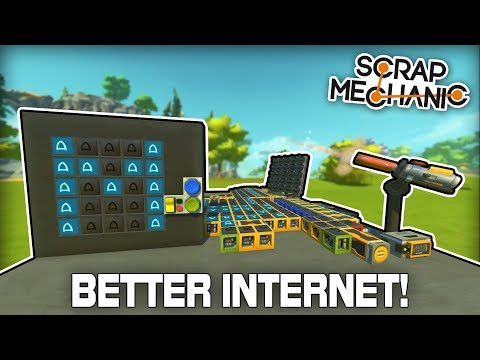 Spudnet 2.0: The Internet of the Future! (Scrap Mechanic #323)