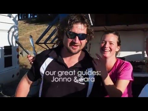 Video of New Zealand - Flying Kiwi 11/2015 (Sara & Jonno)