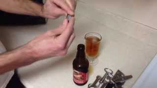 How To Properly Pour And Re-Cap A Bottle Of Beer