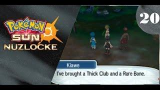 A Thick Club and a Rare Bone Pokemon Sun: Nuzlocke EP: 20