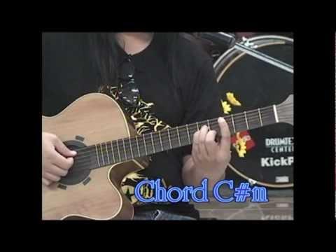 Guitar Chord E,F#m,G#m,A,B,C#m / การจับคอร์ดในคีย์ E