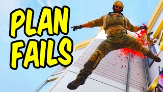 Plan Fails - Rainbow Six Siege Funny Moments & Epic Stuff