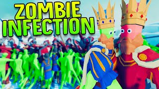 A Deadly Zombie Infection Is Spreading In TABS - New Zombie Infection Unit (Mod) - TABS Gameplay