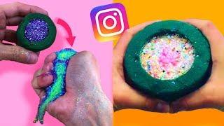 Imitando VIDEOS SATISFACTORIOS de instagram! 🌈 Algo salio mal