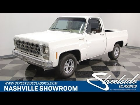 Video of 1977 C10 Offered by Streetside Classics - Nashville - Q2EP