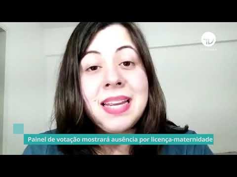 Painel de votação mostrará ausência por licença-maternidade - 04/10/21