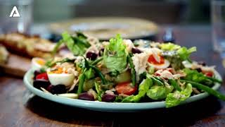 French Cuisine Recipes By Gordon Ramsay - Medeliene & Tuna Salade - Almost Anything