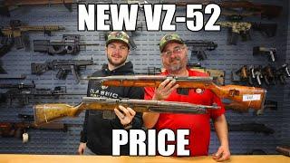 Czech M52 / Vz52 - Semi-Auto Rifle 7.62x45 Caliber 10 Rd Surplus - Good Surplus Condition - C & R Eligible