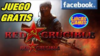 Red Crucible Firestorm Juego Shooter Fps Multijugador De Pocos