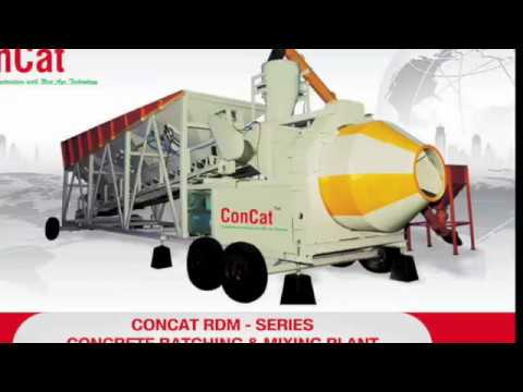Reversible Drum Concrete Batching Plant RDM-20