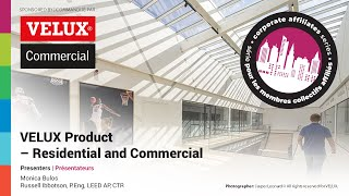 RAIC Corporate Affiliate Webinar: VELUX Product – Residential and Commercial