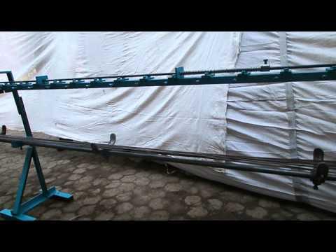 Wire Straightening & Cutting Machine-Double Roller