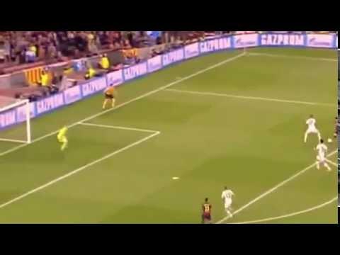 Lionel Messi Chip Goal Barcelona vs Bayern Munich 06 05 2015