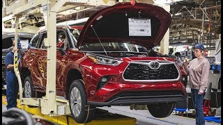 2020 Toyota Highlander Production at the Toyota Indiana plant / Toyota Manufacturing