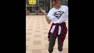 تاره فارس ترقص على اغنية بسيطه لوليد الشامي.... فد شي خورافي يفوتكم
