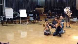 OCYO Brass - Lonely Boy Sketch - 2014