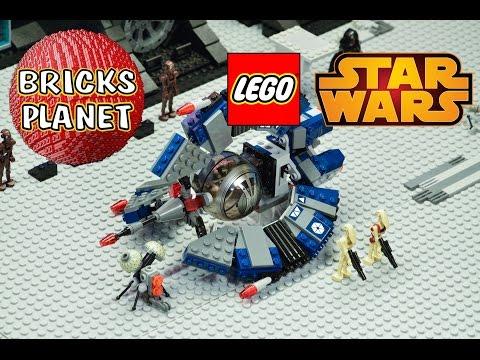 Vidéo LEGO Star Wars 75044 : Droïde Tri-Fighter