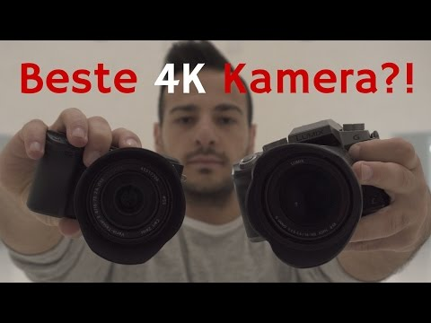 4K Video - beste Kamera für Anfänger? Lumix G70 vs. Sony A6300 |mit iReviewGER & NerdTech