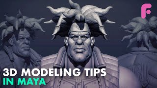 Top 5 3D Modeling Tips for Beginners in Maya