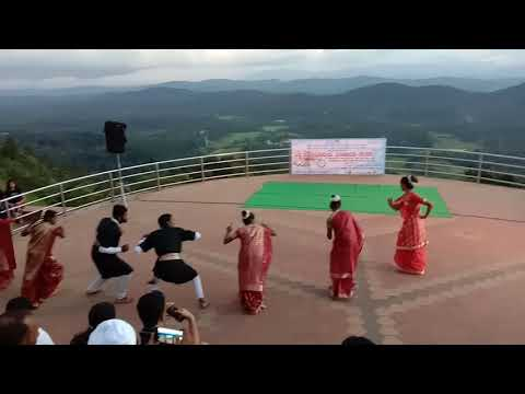 Awesome Kodava coorg dance at Madikeri Kodagu
