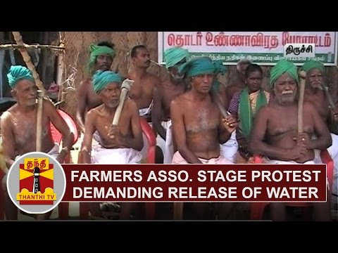 River-Linking-Farmers-Association-stage-Protest-demanding-release-of-water-from-Karnataka