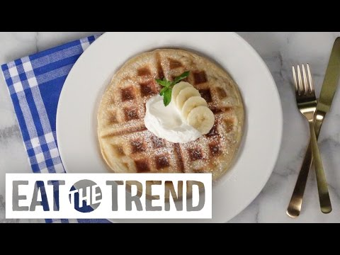 Puff Pastry Waffles Are The Easiest, Most Indulgent Breakfast Ever